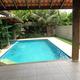 Vista da suíte 4 para piscina